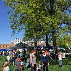 Photo taken at Peace Park by Dennis V. on 4/26/2015