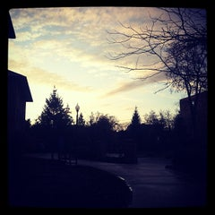 Photo taken at Brandel Library - North Park University by Seairra G. on 10/24/2012