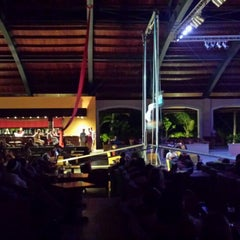 Photo taken at Show Time at Majestic Elegance Resort by Antonio M. on 5/8/2014