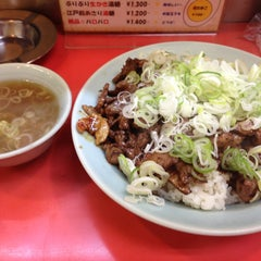 Photo taken at 菜苑 浅草本店 by しゃろむ on 7/23/2013