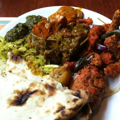 Photo taken at Taste Of India by Curtis K. on 3/10/2013