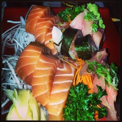 Photo taken at Yuka Japanese Restaurant by Baby G. on 4/12/2013
