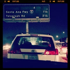 Photo taken at I-605 (San Gabriel River Freeway) by Oliver B. on 12/24/2014