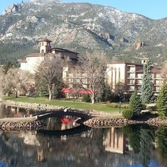 Photo taken at The Broadmoor by Bill M. on 5/3/2013