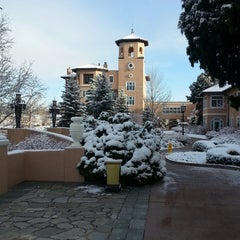 Photo taken at The Broadmoor by Bill M. on 5/2/2013