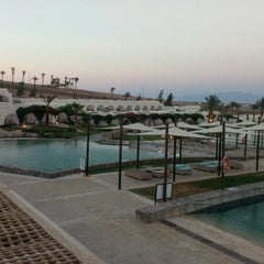 Photo taken at Le Méridien Dahab Resort by Vitaliy K. on 7/19/2014
