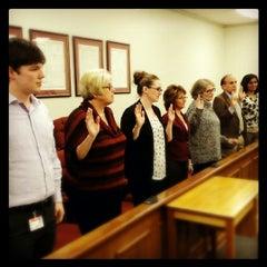 Photo taken at Bartholomew County Courthouse by Rick S. on 2/25/2014