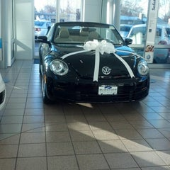 Photo taken at McDonald VW by Melina G. on 12/11/2012