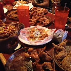 Photo taken at Hooters of Santa Monica by Kitty D. on 4/22/2013
