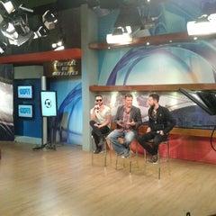 Photo taken at Ocho TV by Carlito P. on 5/23/2014