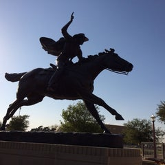 Photo taken at TTU - Marsha Sharp Center for Student Athletes by Debbie L. on 10/10/2013