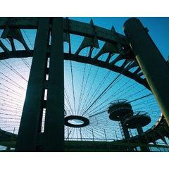Photo taken at Worlds Fair Playground by Kat L. on 5/4/2015