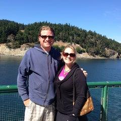 Photo taken at M/V Hyak (Washington State Ferry) by Jennifer B. on 7/28/2013