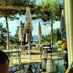 Photo taken at Dolder Grand Garden Restaurant by Aram B. on 10/6/2012