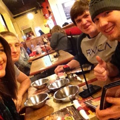 Photo taken at Genghis Grill by Reba S. on 11/3/2012