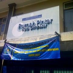 Photo taken at Rumah Pintar Pemkot Denpasar by ib_sutarja on 11/29/2012