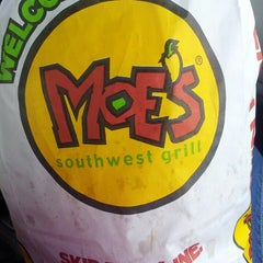 Photo taken at Moe's Southwest Grill by Morgan on 8/18/2013