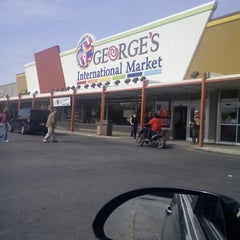 Photo taken at George's International Market by Chris A. on 5/22/2014