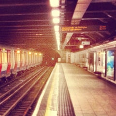 Photo taken at Euston Square London Underground Station by Richie J. on 3/12/2013