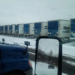 Photo taken at Transport America by Ray G. on 2/13/2014