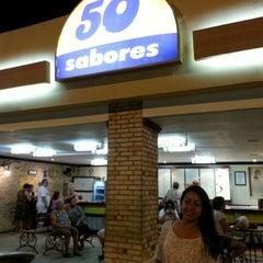 Photo taken at Sorveteria 50 Sabores by Hilston R. on 10/21/2012