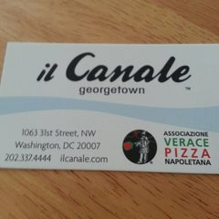 Photo taken at Il Canale by Lior A. on 7/20/2013