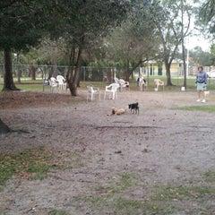Photo taken at Estero Community Park Dog Run by Chris G. on 1/21/2013