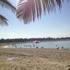 Photo taken at Al Mamzar Park (حديقة الممزر) by Trinushka P. on 12/23/2012