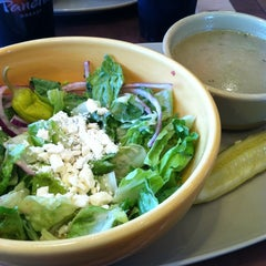 Photo taken at Panera Bread by Jessica F. on 10/1/2012