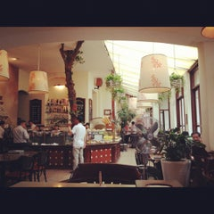 Photo taken at Paris Deli by Diep T. on 10/28/2012