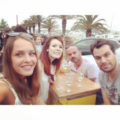 Photo taken at Canet en Roussillon by Marija K. on 6/22/2014
