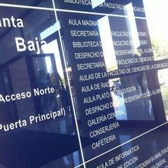 Photo taken at Facultad de Ciencias de la Comunicación by Galería C. on 10/3/2012