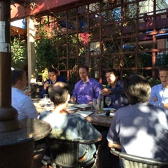Photo taken at San Pedro Square Bistro & Wine by Marc M. on 7/23/2014
