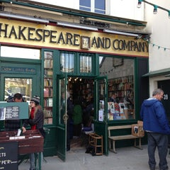 Photo taken at Shakespeare & Company by Jeff P. on 4/18/2013