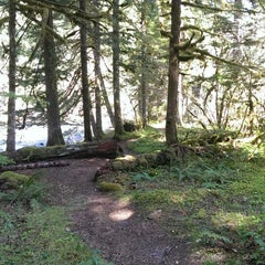 Photo taken at Mt Hood National Forest by Brenda M. on 4/10/2014