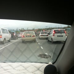 Photo taken at Flyover Petagas by Brandon J. on 1/11/2013