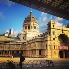 Photo taken at Royal Exhibition Building by SHOPSUI by Sylvia Tai on 6/16/2013