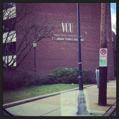Photo taken at T. Edward Temple Building - VCU by ben c. on 3/8/2013