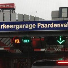 Photo taken at Parkeergarage Paardenveld by Brian B. on 12/27/2012