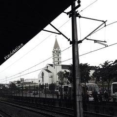 Photo taken at Estação Guaianases (CPTM) by Flavio A. on 7/23/2013