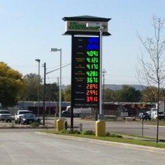 Photo taken at Kwik Trip Alternative Fuel Station by Chad G. on 9/24/2012