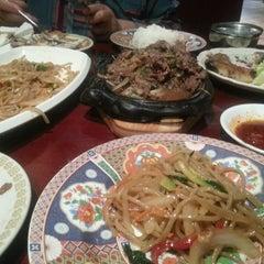 Photo taken at Mokhwa Restaurant by Dalal A. on 10/7/2014