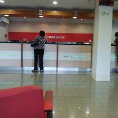 Photo taken at CIMB Bank by Lieza I. on 4/16/2013