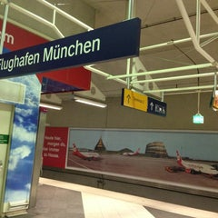Photo taken at S Flughafen München by Janine S. on 6/13/2013