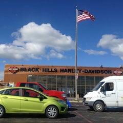 Photo taken at Black Hills Harley-Davidson by Chris N. on 6/5/2013
