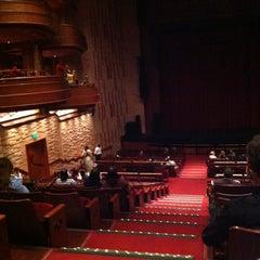 Photo taken at Teatro Bradesco by Marcus C. on 4/17/2013