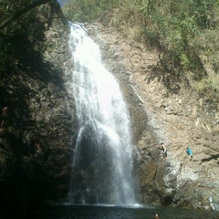 Photo taken at Montezuma Waterfall by Paola C. on 12/23/2012