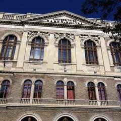 Photo taken at Universitatea Babeș-Bolyai by Iulia H. on 10/23/2012