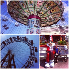 Photo taken at Wiener Prater by Anna T. on 5/9/2013
