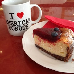 Photo taken at American Donuts by Ginevra M. on 3/16/2013